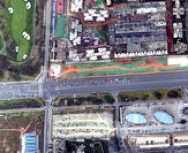 成都地铁项目正射影像航拍