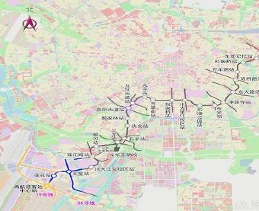 成都地铁航拍测绘