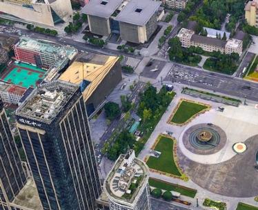 天府广场倾斜摄影三维建模