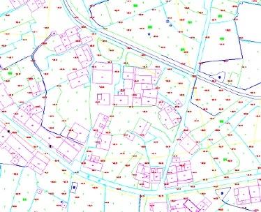 城镇整体规划航拍地形图